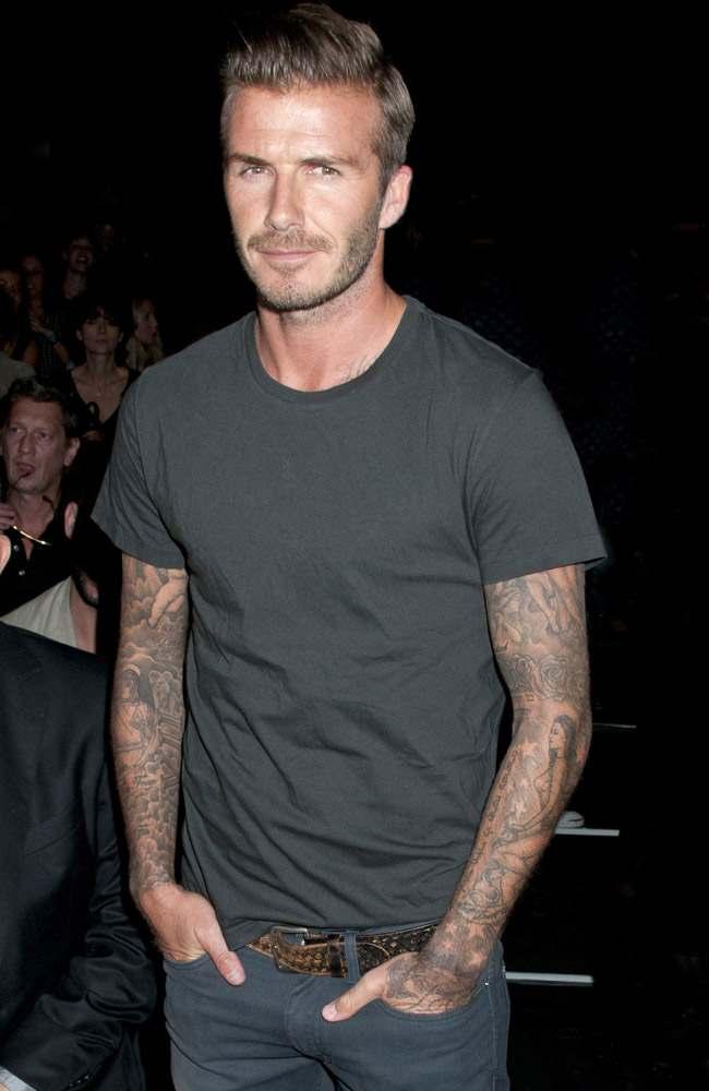 David Beckham Jest Inspiracją Męskich Fryzur Happyhair